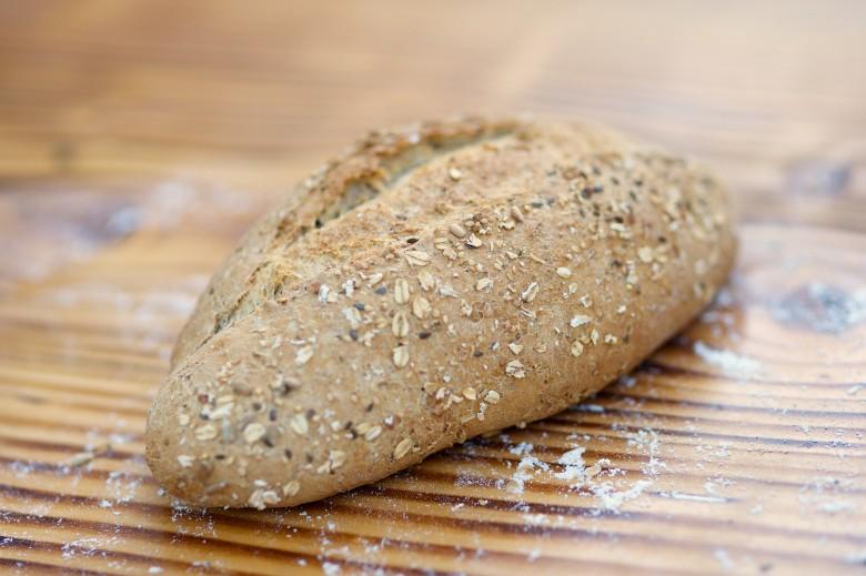 6-korn brød – steinbakt